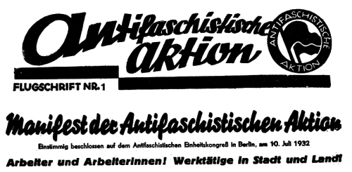 antifa_aktion_1932